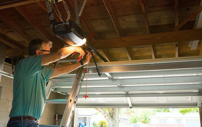 reparation porte de garage